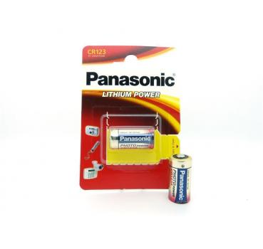 1 x Panasonic CR123A Lithiumbatterie CR123 CR 123 A