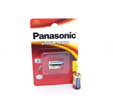 1 x Panasonic CR2A Lithiumbatterie CR2 A CR-2 A CR 2 A Fotobatterie