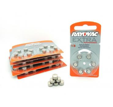 60 Hörgerätebatterien Typ 13 orange Rayovac Extra Advanced